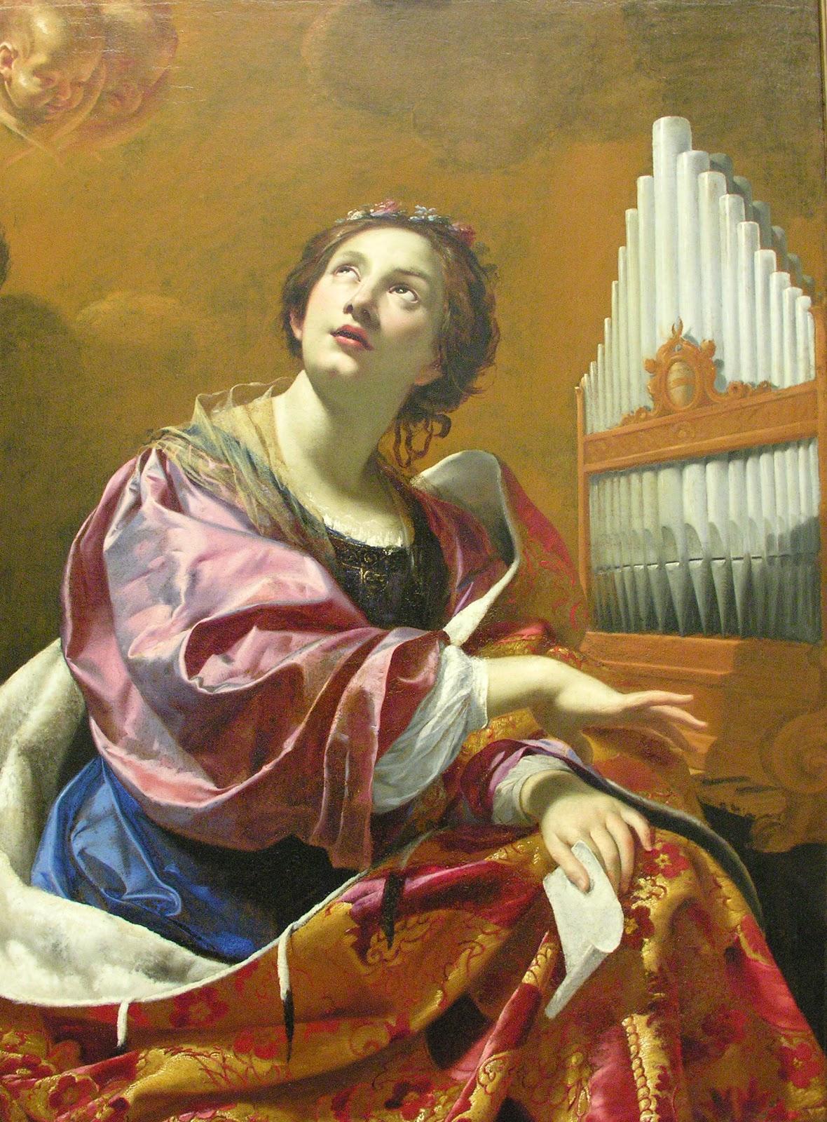 Simon Vouet Saint Cecilia