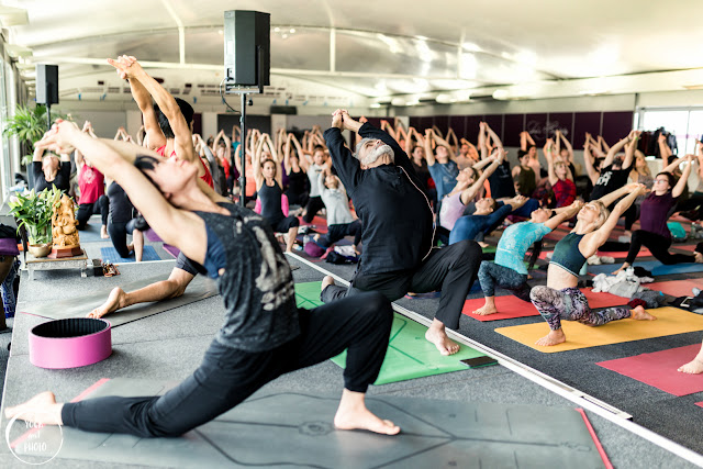 Dharma Mittra's workshop