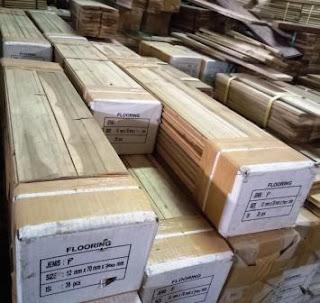 sungkai lantai kayu