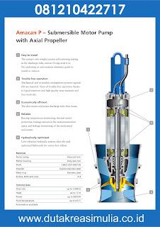 Pompa Banjir Amacan KSB (Submersible Pump KSB) √ - Pompa ...