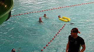 Triathlon Villeneuve d'Ascq piscine
