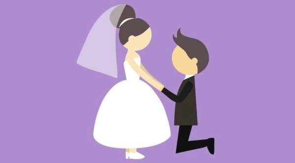 Angka Pernikahan Tanpa Hubungan Semakin Tinggi