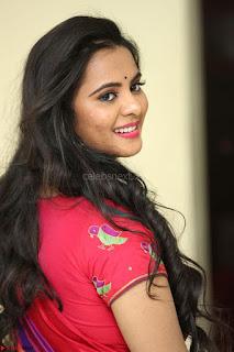 Manasa in Pink Salwar At Fashion Designer Son of Ladies Tailor Press Meet Pics ~ Exclusive