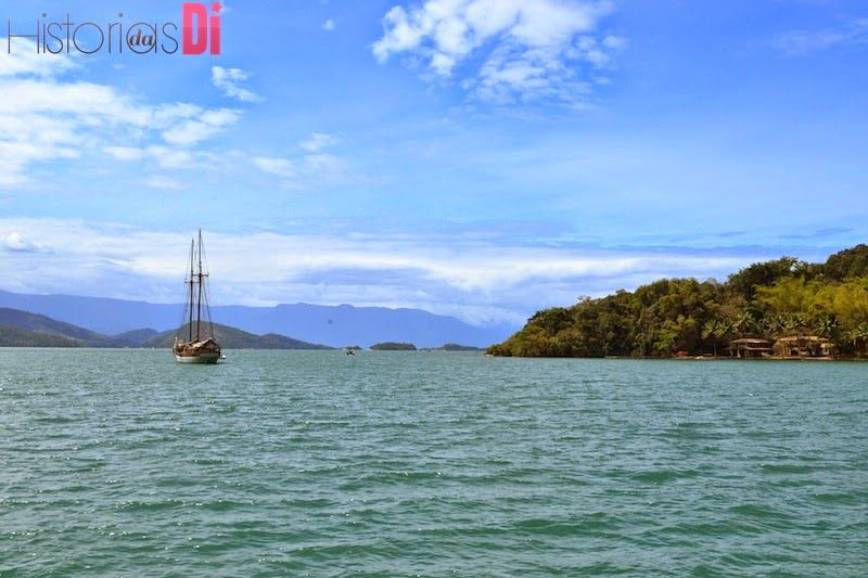 Ilha do Bexiga - onde fica a casa de Amyr Klink