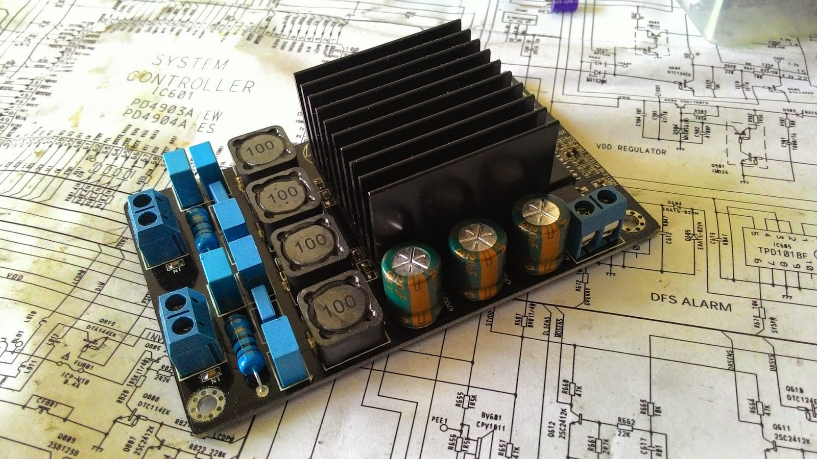 THE ORRONOCO AUDIO DIY: Tripath TK2050 Amplifier Kit (Part 1