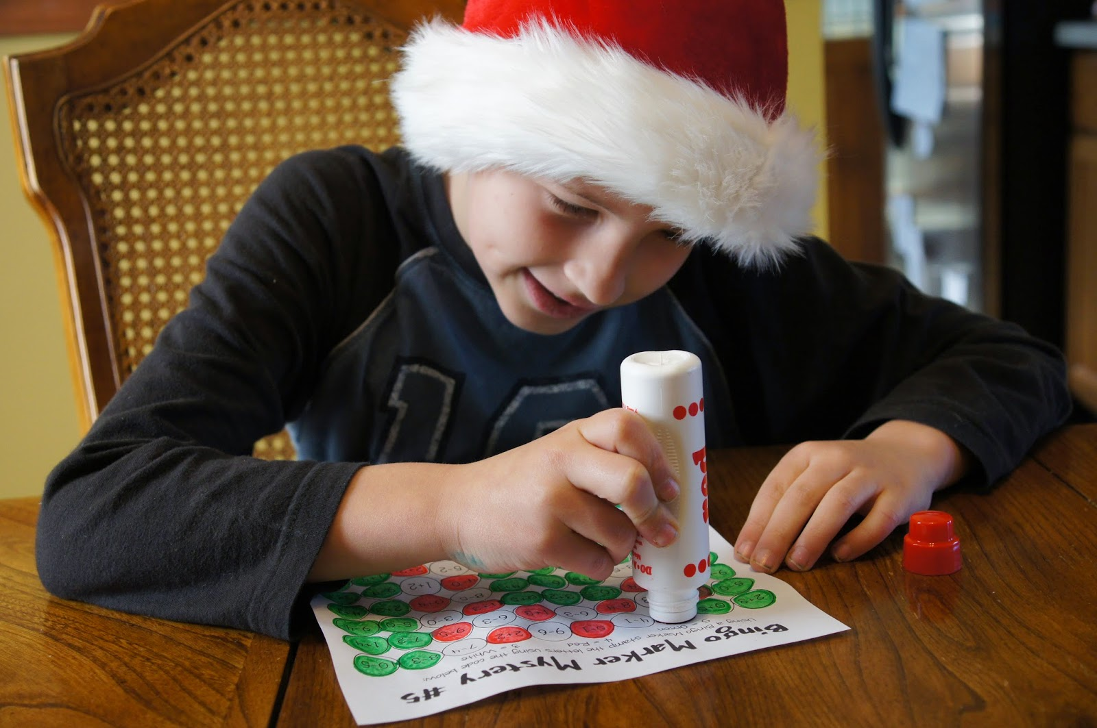 Solve And Stamp Christmas Math