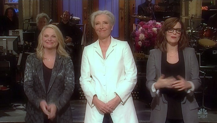 TN Fay and Emmy Pohler join Emma Thompson in Mother's Day Monologue of SNL (see)