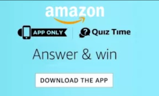 Amazon Quiz Answers 21th May 2019
