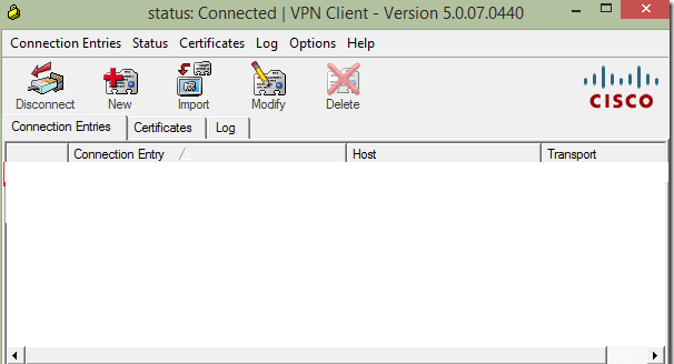 Setup Cisco Vpn Client On Windows 10