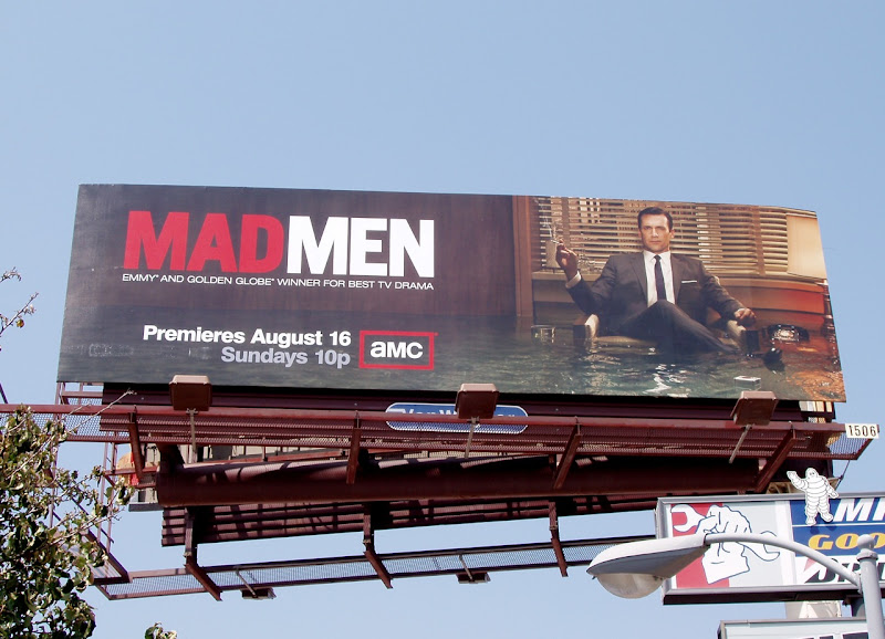 Mad Men season 3 billboard