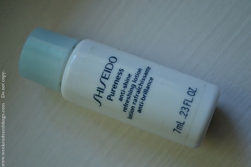 Shiseido Pureness Matifying Lotion
