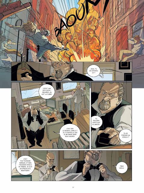 """Brigade Verhoeven tome 1 """"Rosie"""" page 10 aux éditions Rue de Sèvres"""