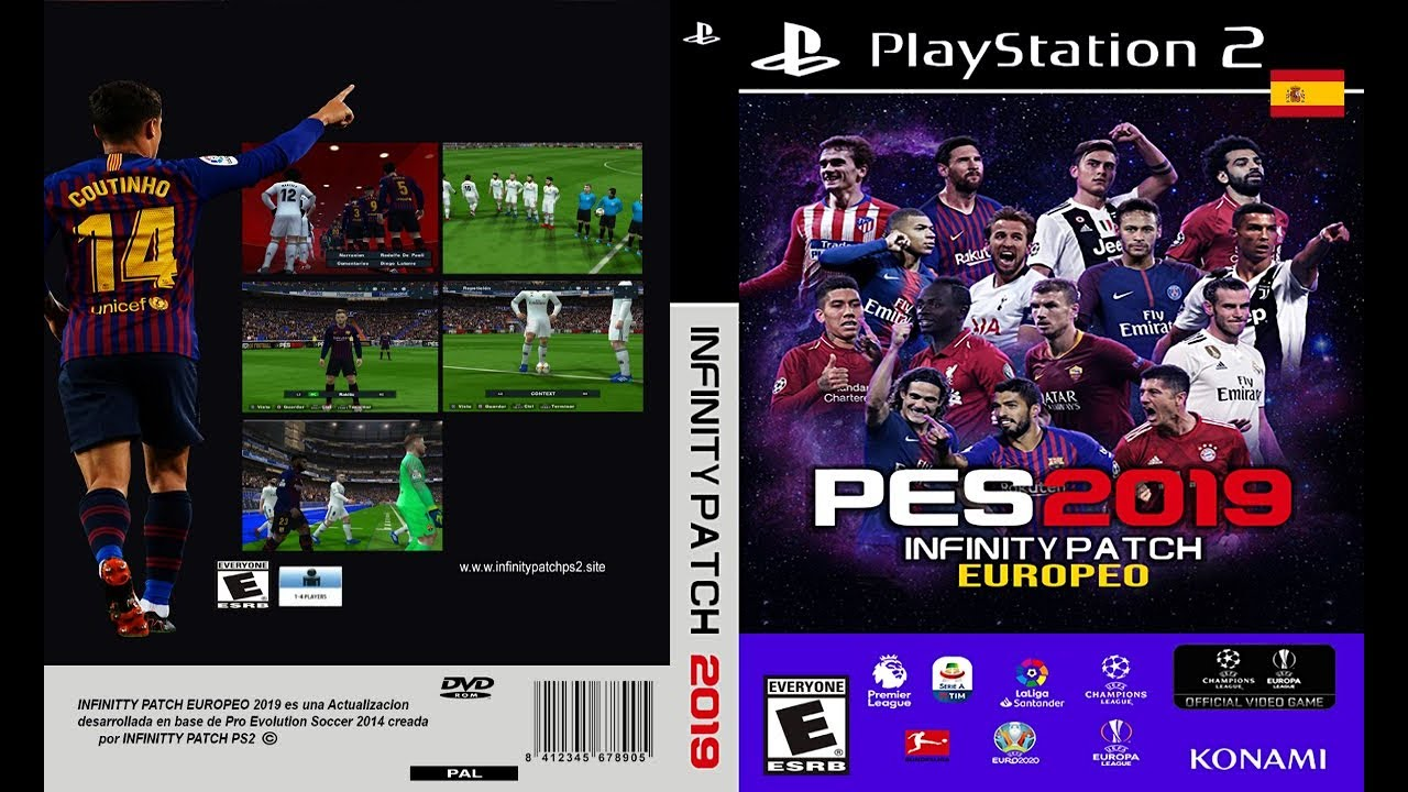 PES 2019 PS2 EUROPEO Infinity Patch 2019 - Malaysia - PES Patch