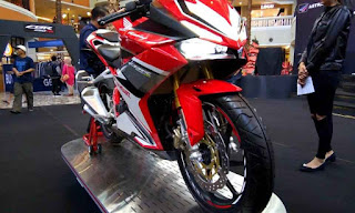 Honda All New CBR250RR Racing Red