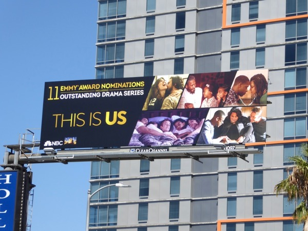 This Is US season 1 Emmy noms billboard