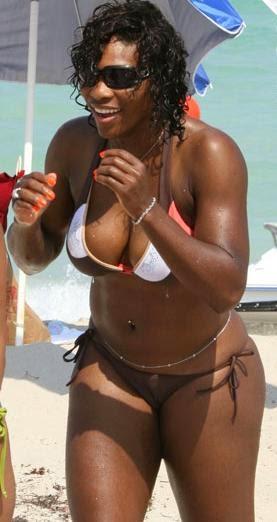 Topless photos of sarena william sorry, that