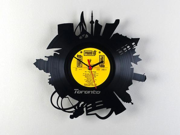 Viralmente Pavel Sidorenko Vinyl City Clocks