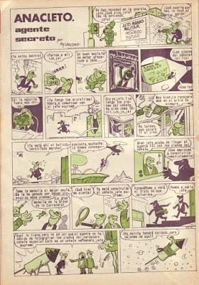 1ª Página de Anacleto, Pulgarcito nº 1753 (7 de diciembre de 1964)