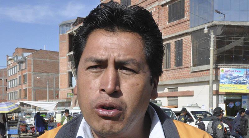 Director de Regulación de Movilidad Urbana de la Alcaldía, Fernando Flores