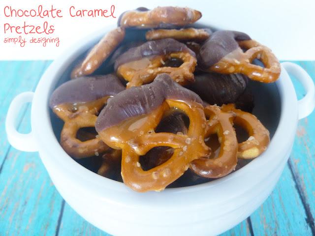 chocolate caramel pretzels 1 Chocolate-Dipped Raspberry Lollipops 20