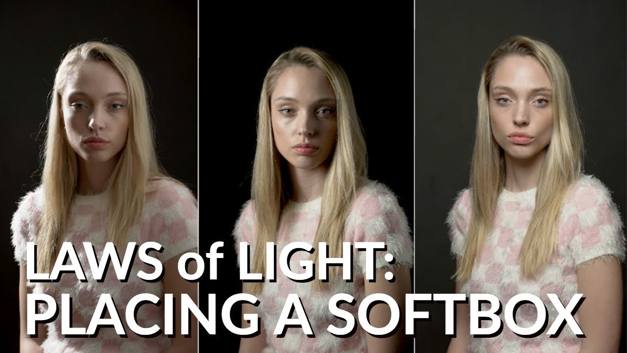 Laws of Light: Placing a Softbox