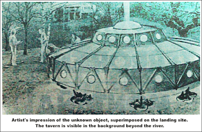 UFO with Humanoid Occupants in Lugo, Spain - 1980