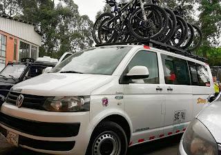 turismo en microbus bicicletas
