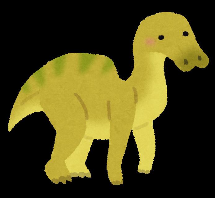 エドモントサウルスのイラスト恐竜 かわいいフリー素材集 いらすとや