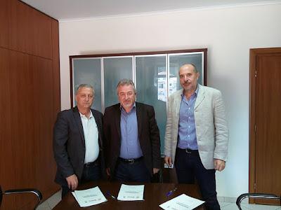Υπογραφή πρωτοκόλλου συνεργασίας μεταξύ του Δήμου Ηγουμενίτσας, Επιμελητηρίου Θεσπρωτίας και ΤΕΙ Ηπείρου