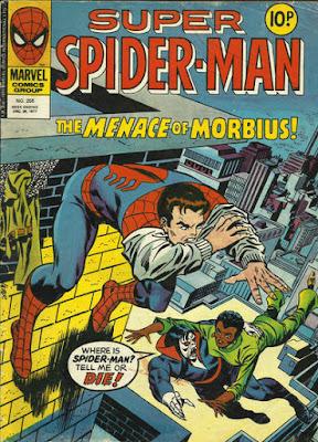Super Spider-Man #255, Morbius