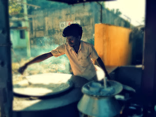 The Dosa Man at Kadpakkam highway