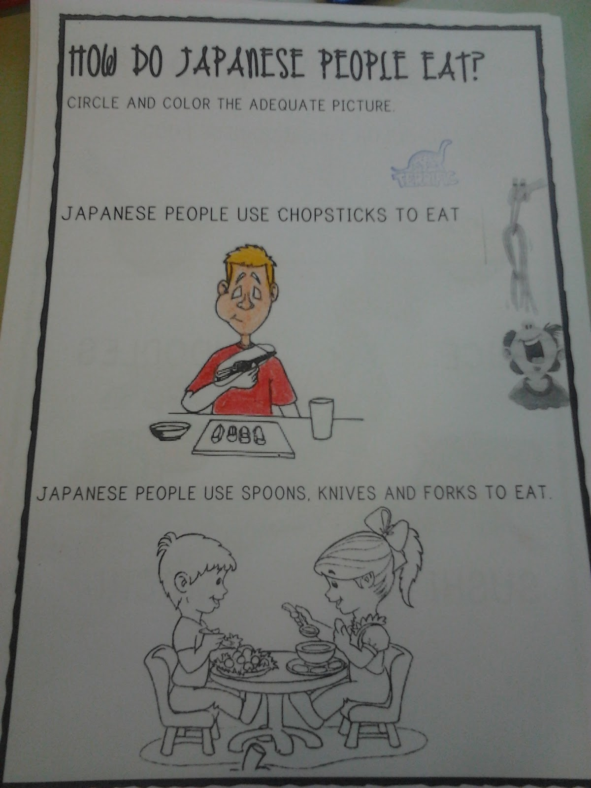 The Teaching Express Japanese Food