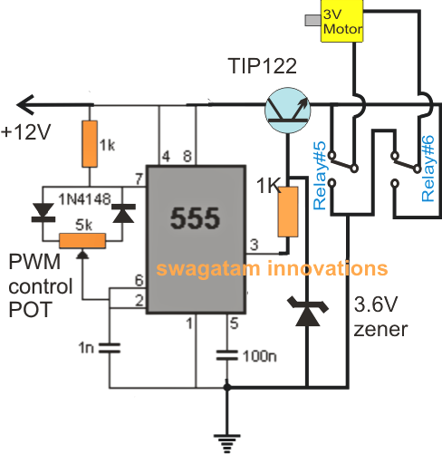 rc helicopter remote control circuit electronic circuit projects here also we employ the versatile ic 555 wired as a precise pwm generator circuit the pwm is set appropriately through the 5k preset before finalizing the