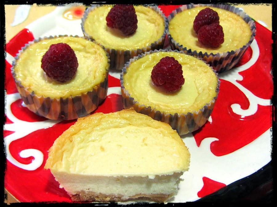 Mini-tartas de queso