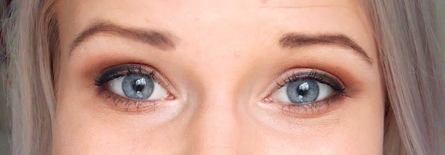 häämeikki siniset silmät