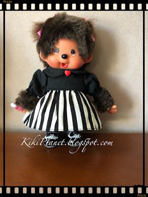 kiki monchhichi dress robe limited edition tokyo vêtement clothes