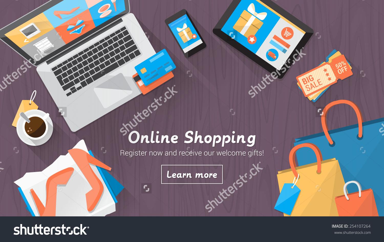 online street shopping