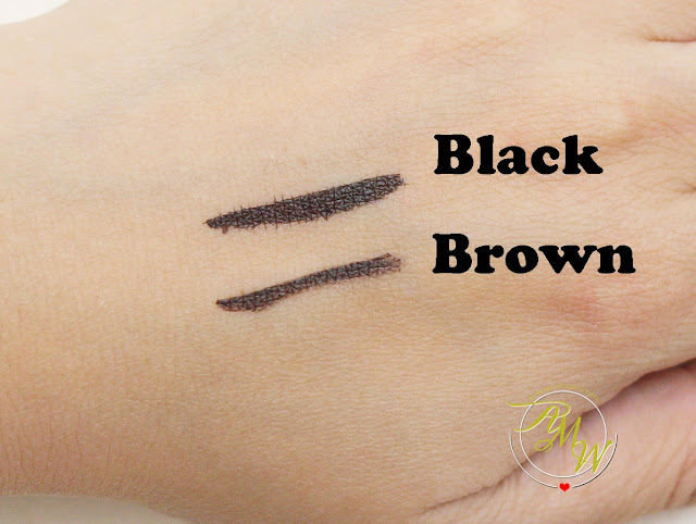 a swatch photo of Lifeford Hi- Precise Eye Pen black and brown