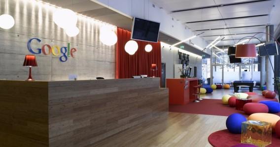 Interior kantor dinamis