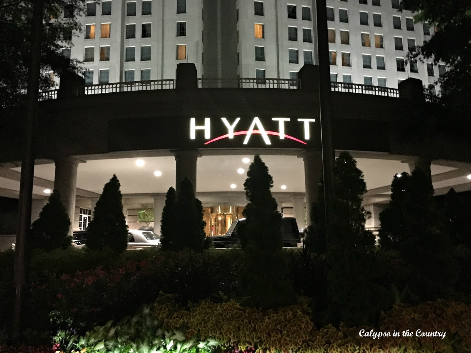 Buckhead Hyatt in Atlanta, GA - the location for the Haven Conference for DIY and design bloggers
