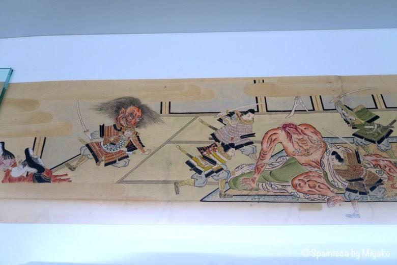 マドリードで鑑賞する日本の妖怪大江山絵巻《Yokai: Iconografía de lo fantástico》