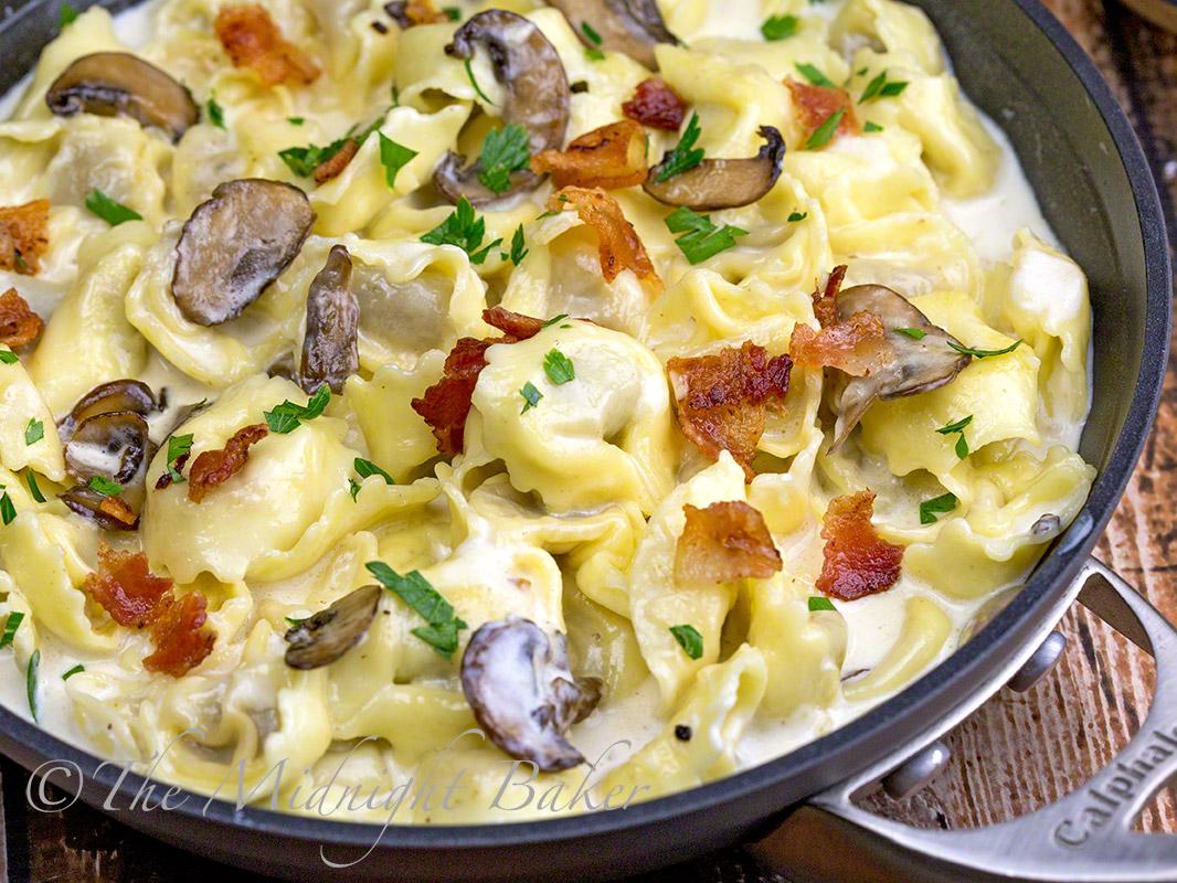 Tortellini Al Forno - The Midnight Baker