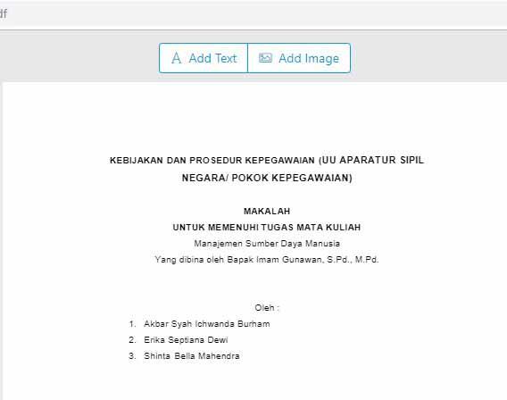 Menambahkan Watermark di PDF