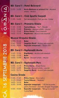 program trupe concerte festival sinaia forever 2018 duminica