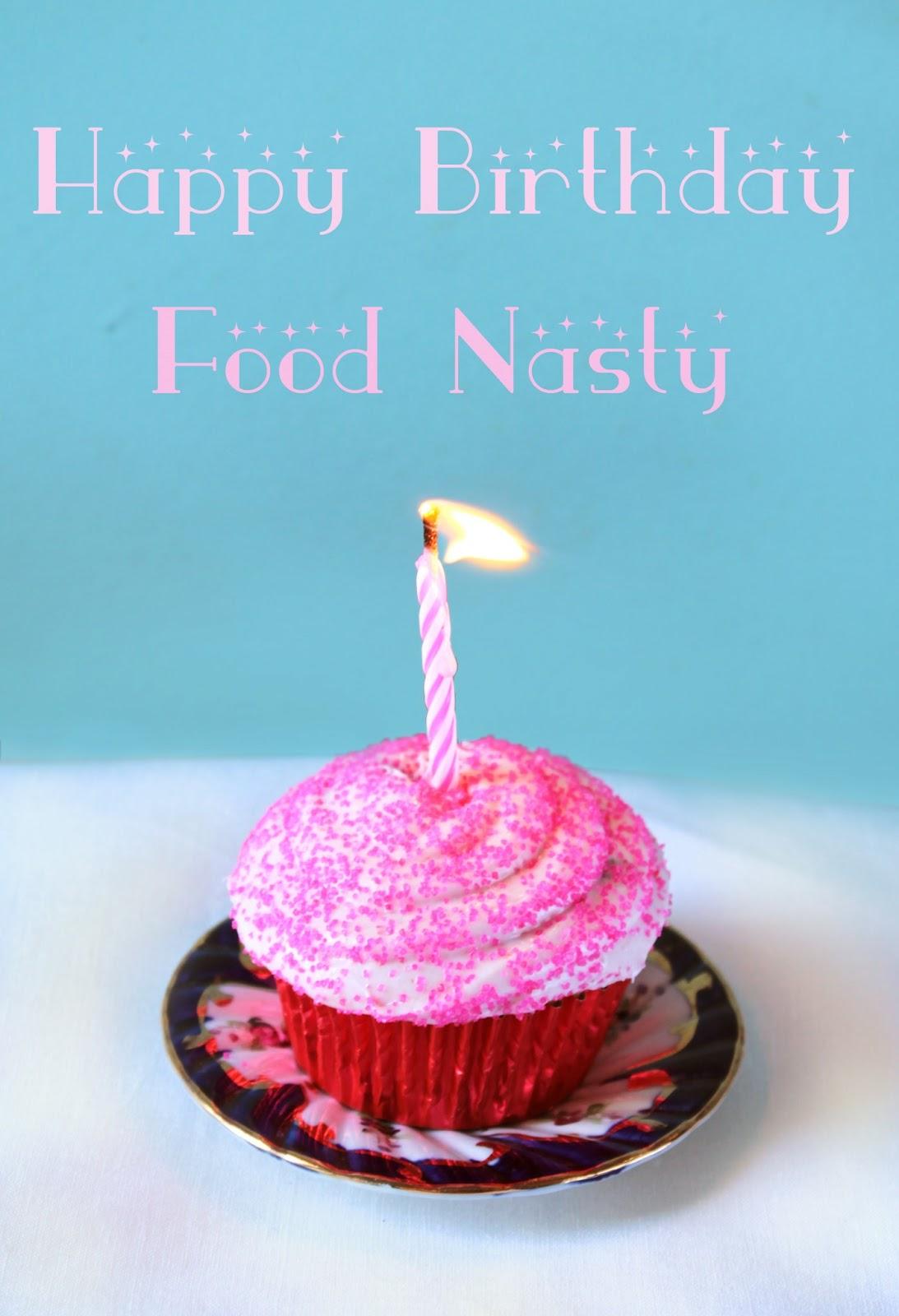 Food Nasty Happy Birthday Cupcakes