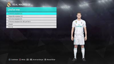 PES 2018 PS4 PeSoccerWorld Season 2017/2018