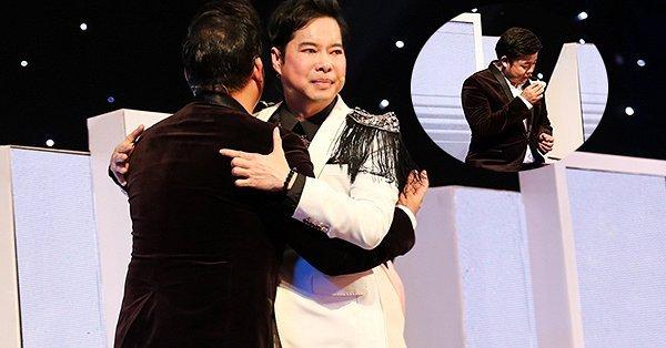 """Quang Lê khóc như mưa trong tập 12 """"Thần tượng Bolero 2017"""""""
