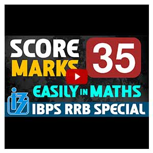 Score 35 Marks Easily in Maths | IBPS RRB SPECIAL 2017