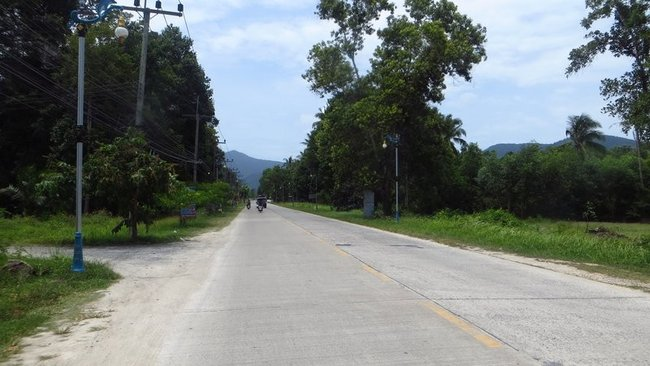 Дорога в середину острова