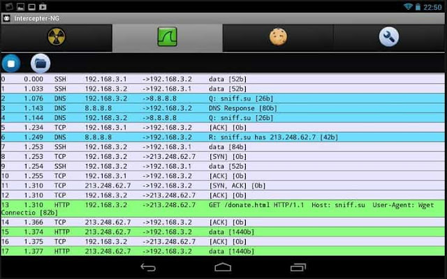 VNC server to access the Kali graphical interface from a computer or via Android VNC